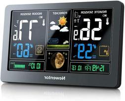 Newentor Weather Station Wireless Digital Indoor Outdoor The