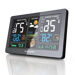 Newentor Weather Station Wireless Digital Indoor Outdoor The