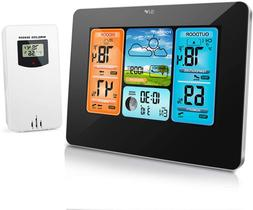 Weather Station Wireless Indoor Outdoor Thermometer Digital