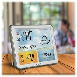 Weather Station with HD LCD COLOR Screen Display Wireless 33