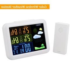 Weather Stations Wireless Indoor Outdoor Sensor Full Color L
