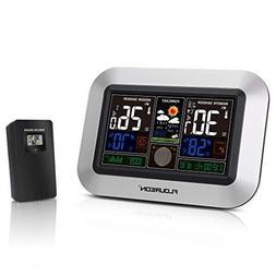 floureon Weather Stations Wireless Indoor Outdoor Sensor wit