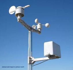 WeatherRack - Anemometer Wind Vane Rain Bucket designed for
