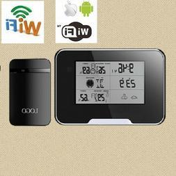 Wifi 1080P Weather Station Spy Camera DVR w/ audio for iphon