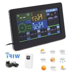 Weather Station WiFi Color Display Clock Weather Wind Foreca