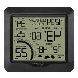 Wind Speed Weather Station with Sensor backyard Home Indoor