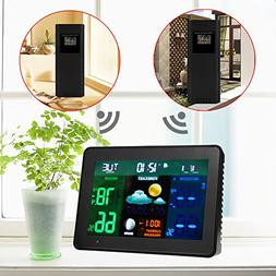 Alloet Wireless Colorful Display Weather Station, Multifunct