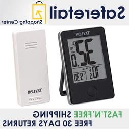 Wireless Digital Indoor Outdoor Thermometer Weather Station