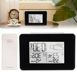 Wireless Digital LCD Weather Station Indoor Outdoor Thermome