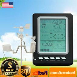 Wireless Digital Weather Station Indoor Outdoor Thermometer&