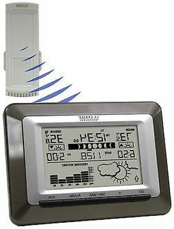 La Crosse Technology Wireless Forecast Desktop Station, 1 ea