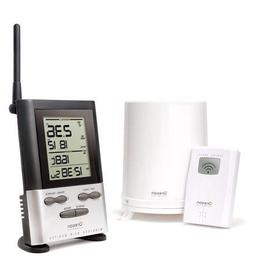 Wireless Rain Gauge with OUTDOOR Therm.