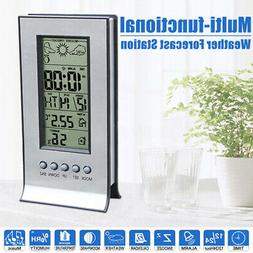 Wireless Thermo-hygrometer Weather Station LCD USB Barometer