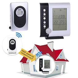 Wireless Digital Thermometer - 433mhz Weather Station Alarm