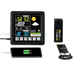 Wireless Thermometer Weather Station Indoor Outdoor Sensor C