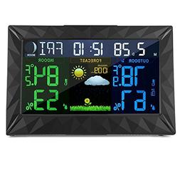 Mesuvida Wireless Weather Forecast Station, Indoor Outdoor D