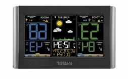 La Crosse Technology Wireless Weather Forecast Station Color