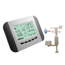 Julitech Wireless Weather Station, Digital Indoor Outdoor Te