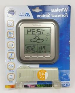La Crosse Technology Wireless Weather Station, Grey, 1 ea