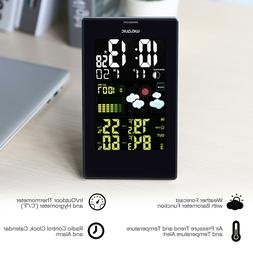 Wireless Weather Station LCD Thermometer Barometer Humidity