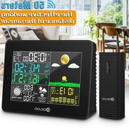 DIGOO Wireless Weather Station LCD Thermometer Barometer Hum