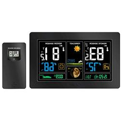 GBlife Wireless Weather Station, Color Forecast Station, Dig