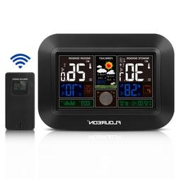 Wireless Weather Station Sensor Forecast Alarm Clock Outdoor