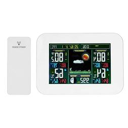 Alloet Color Wireless Weather Station Thermometer Forecast S