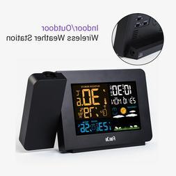 Fanju Wireless Weather Station Thermometer Sensor Digital Pr