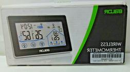 wireless weather station touch screen thermometer hygrometer