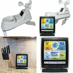 Wireless Weather Station with 5-in-1 Weather Sensor Temperat
