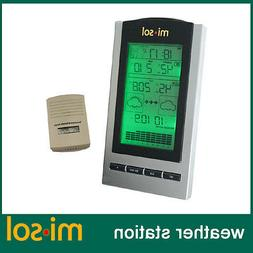 wireless Weather Station with Outdoor Temperature humidity s