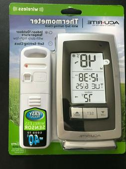 AcuRite Wireless Weather Tempurature And Intelli-Time Clock