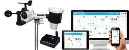 Ambient Weather WS-1550-IP Smart Weather Station with Remote