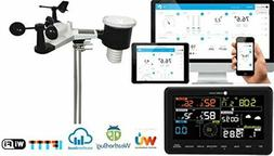 Professional Weather Station with Internet Monitoring Temper